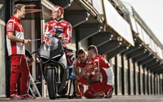 Tester d'eccezione per la V4 Ducati