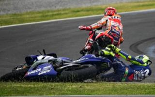 Rossi's anger