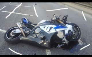BMW HP4 crash compilation