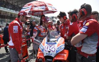Ducati well with the satellite team