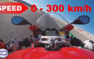 Panigale from 0 to 300km / h