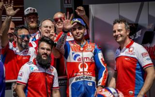 Great satisfactions for Petrucci, first among the factories