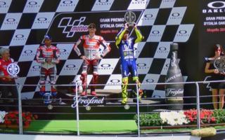 Le rosse dominano il Gran Premio d'Italia