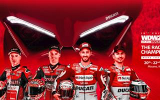 """The Race of Champions"": Ducati champions competing with the Panigale V4 S at the WDW2018"