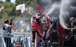 Ducati a Laguna Seca gara 2