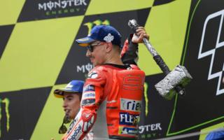 Dovizioso and Lorenzo in the Netherlands
