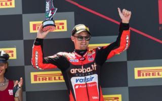 Ducati in Misano (Rennen 1)