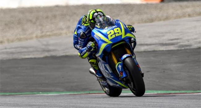 MotoGP Austria: Suzuki suffers but improves