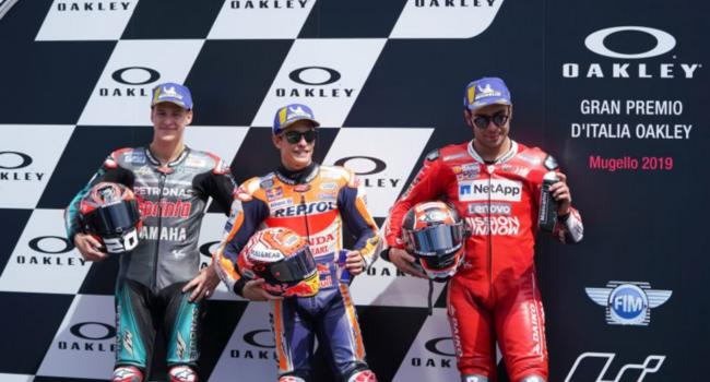 Italian Grand Prix: strategic time for Marquez, excellent performance for a satisfied Quartararo