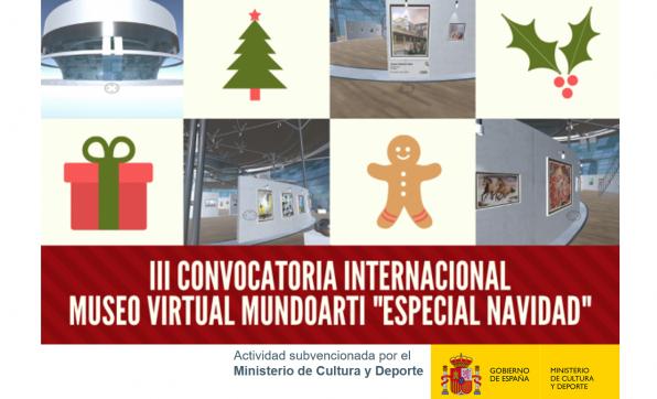 """III CONVOCATORIA INTERNACIONAL MUSEO VIRTUAL MUNDOARTI """"ESPECIAL NAVIDAD"""""""