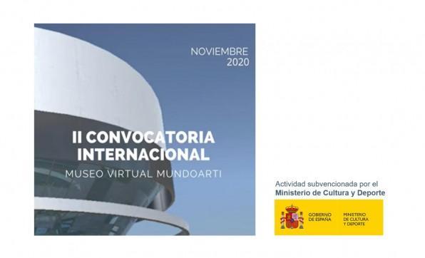 II CONVOCATORIA INTERNACIONAL MUSEO VIRTUAL MUNDOARTI