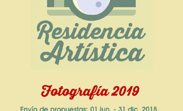 RESIDENCIA ARTÍSTICA FOTOGRÁFICA 2018
