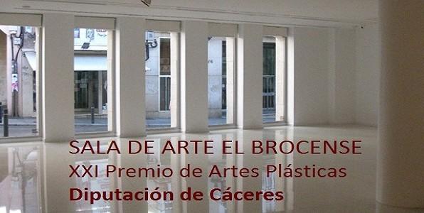 XXI PREMIO DE ARTES PLÁSTICAS SALA EL BROCENSE