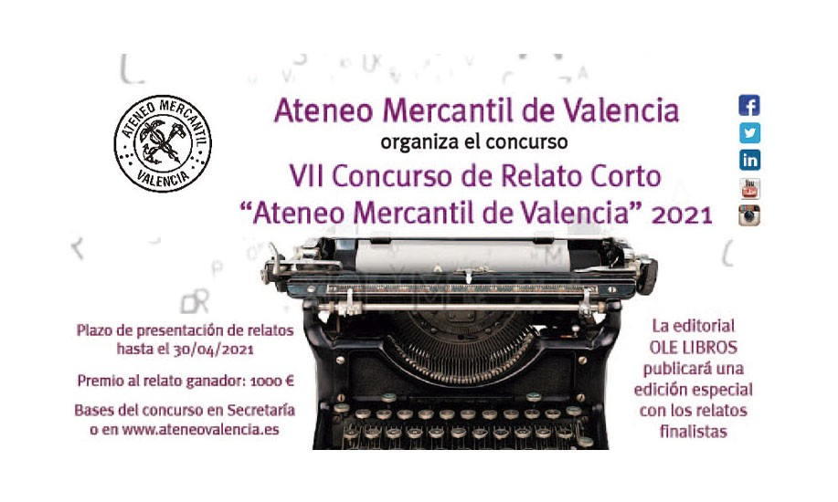 "VII Concurso de Relato Corto ""Ateneo Mercantil de Valencia"" 2021"
