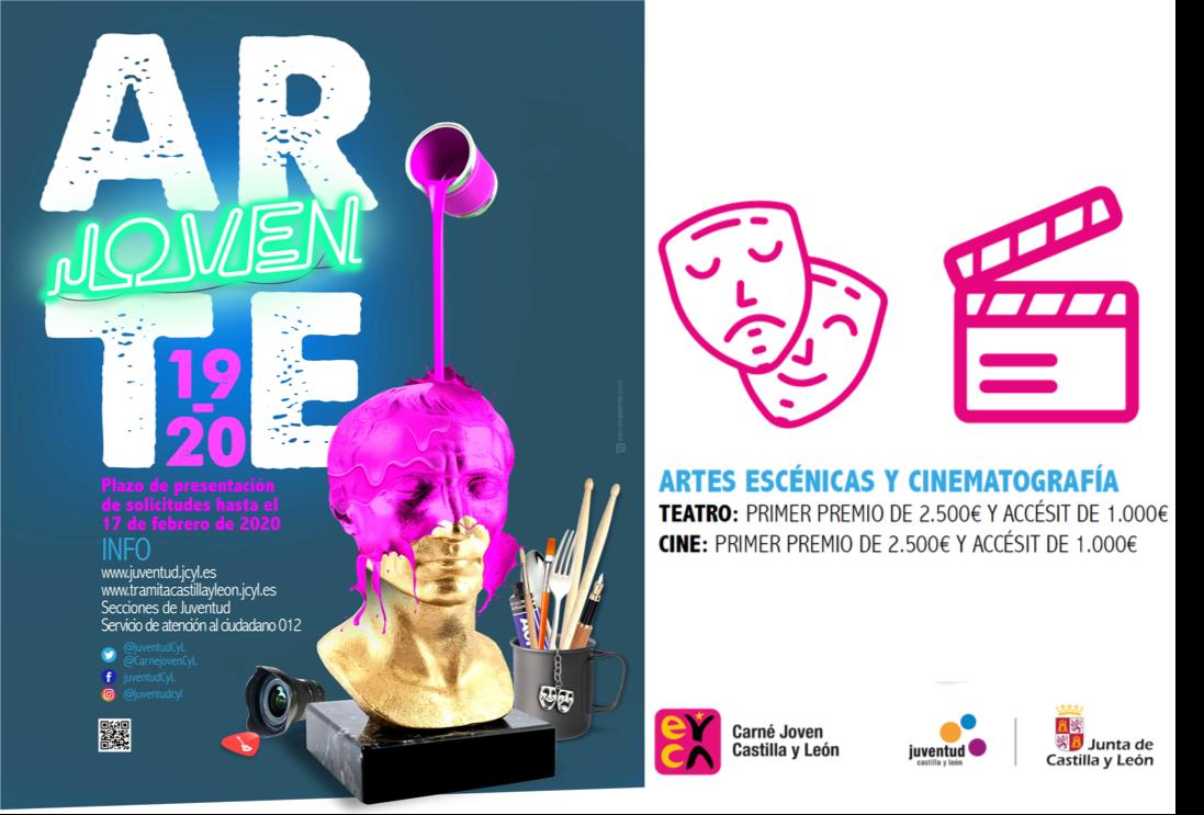 Arte Joven Castilla y León - ARTES ESCÉNICAS Y CINEMATOGRAFÍA