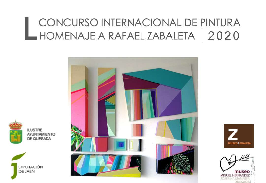 L CONCURSO INTERNACIONAL DE PINTURA HOMENAJE A RAFAEL ZABALETA QUESADA (JAÉN) 2020