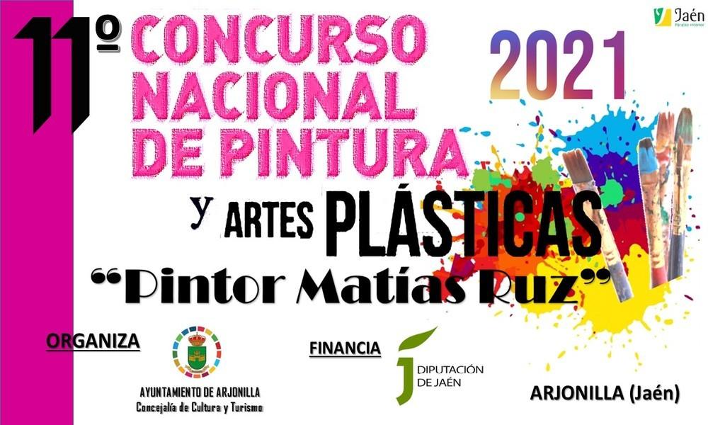 """XI CONCURSO NACIONAL DE PINTURA Y ARTES PLÁSTICAS """"PINTOR MATÍAS RUZ"""" 2021"""