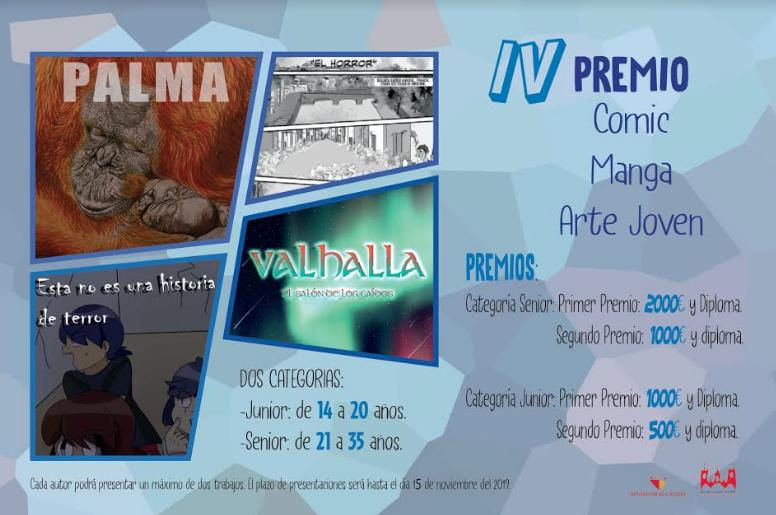 IV PREMIO CÓMIC/ MANGA/ ARTE JOVEN
