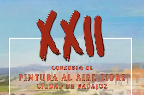 XII CONCURSO DE PINTURA AL AIRE LIBRE CIUDAD DE BADAJOZ 2021