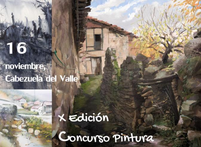 X CONCURSO PINTURA RÁPIDA OTOÑADA 2019 VALLE DEL JERTE