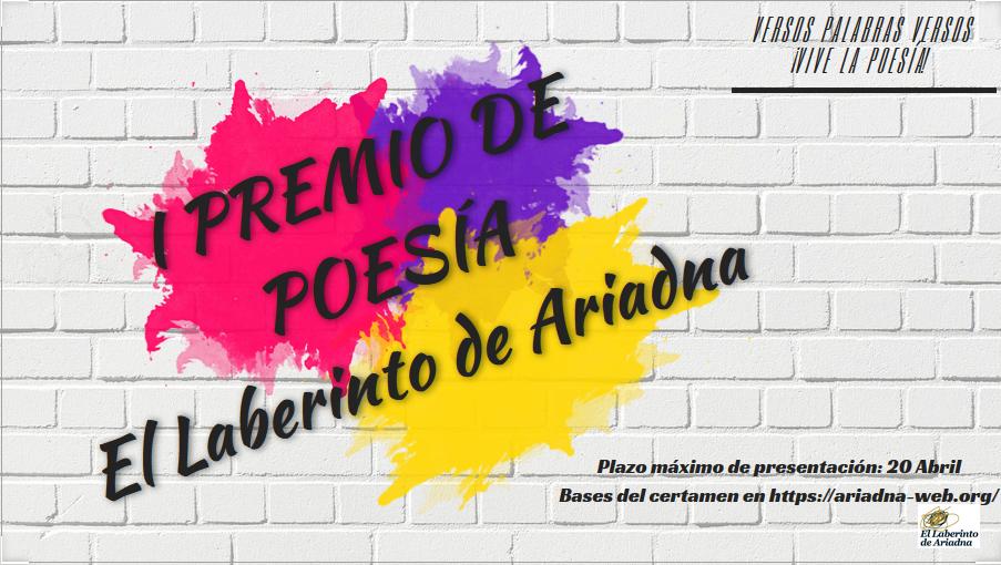 I Premio de Poesía El Laberinto de Ariadna