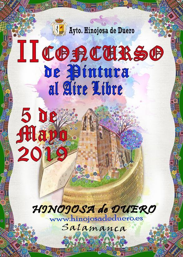 II Concurso de Pintura al Aire libre en Hinojosa de Duero