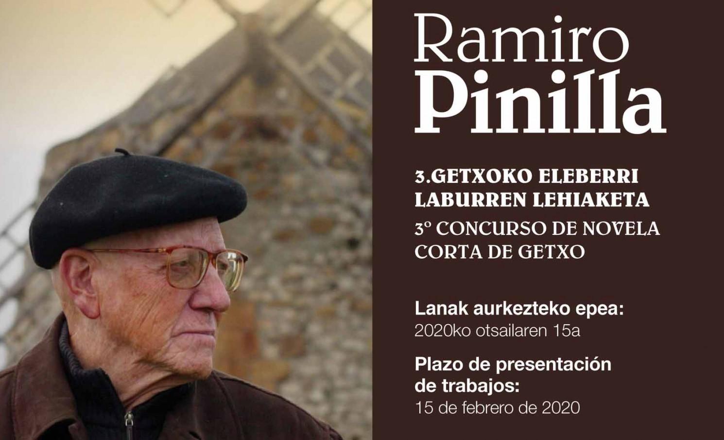 III Concurso de novela corta Ramiro Pinilla de Getxo