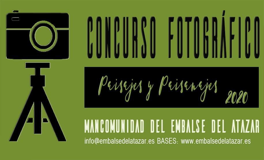 """CONCURSO DE FOTOGRAFÍA2020""""PAISAJES Y PAISANAJES"""" MANCOMUNIDAD DEL EMBALSE DEL ATAZAR"""