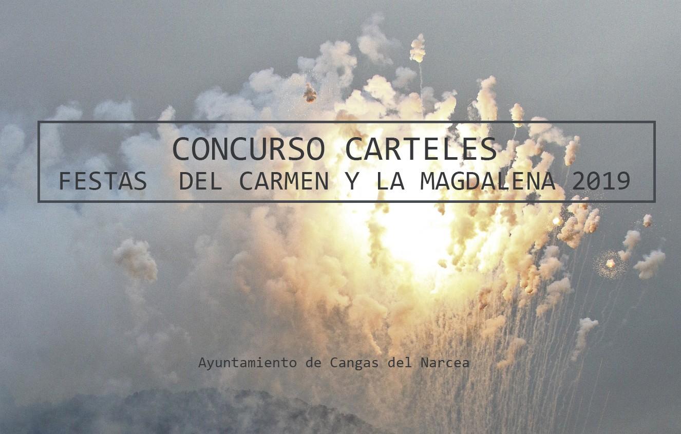 CONCURSO CARTELES FIESTAS DEL CARMEN Y LA MAGDALENA 2019