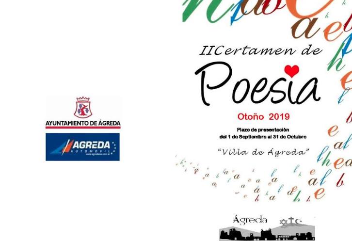 """III CERTAMEN DE POESÍA """"VILLA DE ÁGREDA"""""""