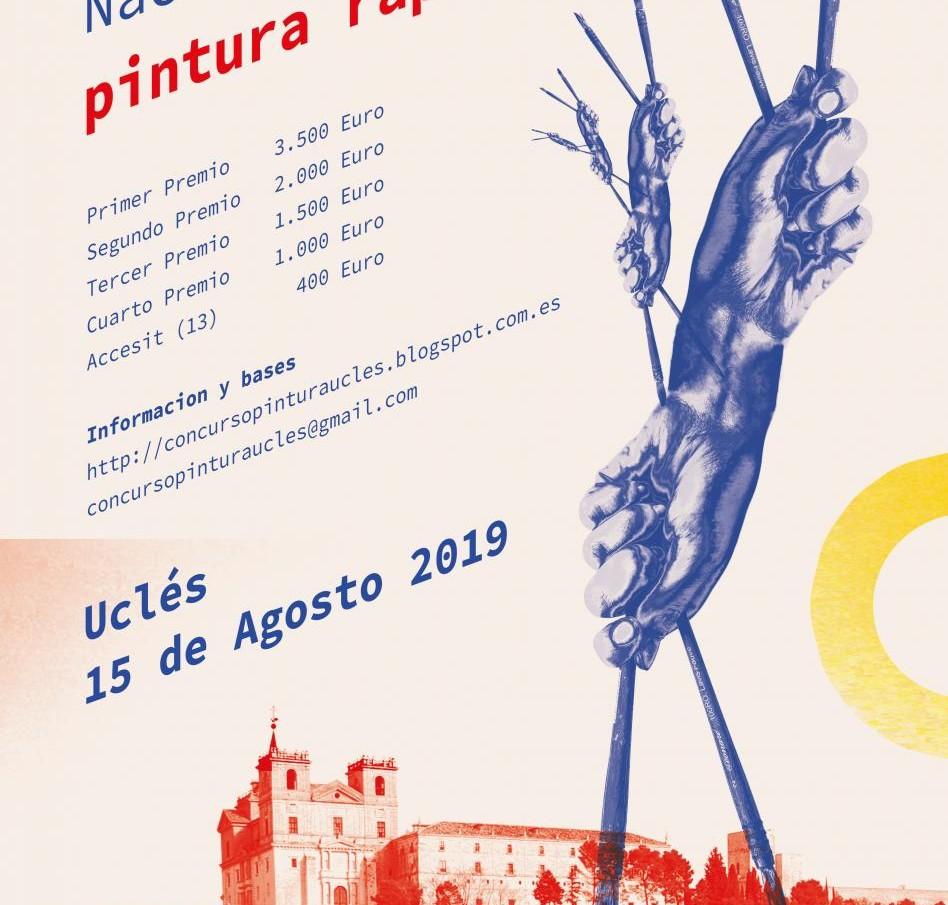 VIII CERTAMEN NACIONAL  DE PINTURA RÁPIDA URCELA - 2019