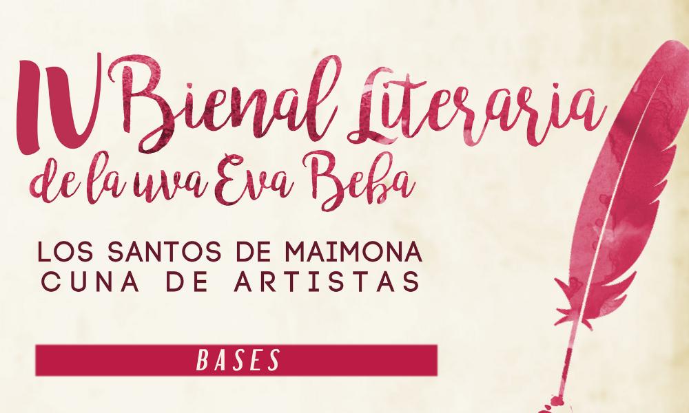 IV BIENAL LITERARIA DE LA UVA EVA BEBA