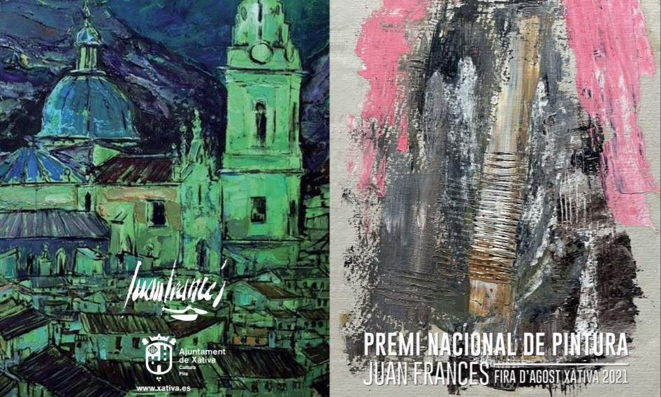 Premio Nacional de Pintura Juan Francés Feria de Agosto 2021