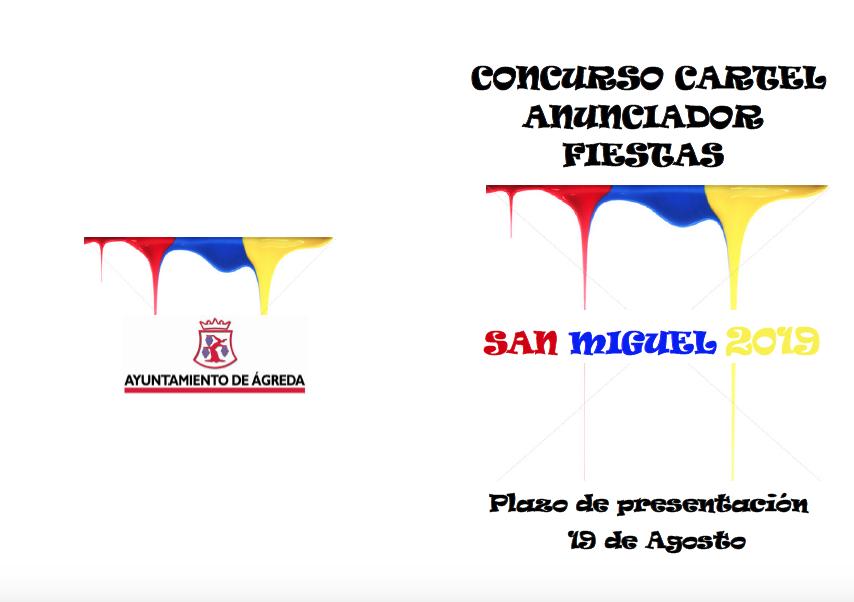 IV CONCURSO DE CARTEL ANUNCIADOR FIESTASDE SAN MIGUEL ARCANGEL 2019