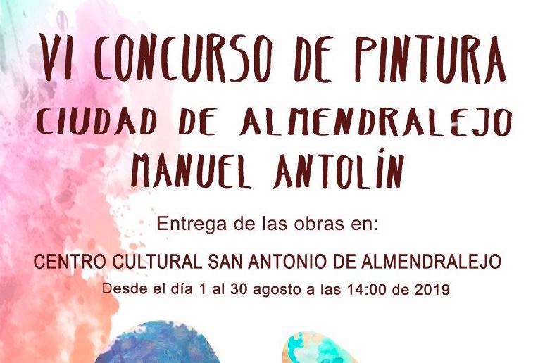 VI CONCURSO DE PINTURA CIUDAD DE ALMENDRALEJO MANUEL ANTOLIN