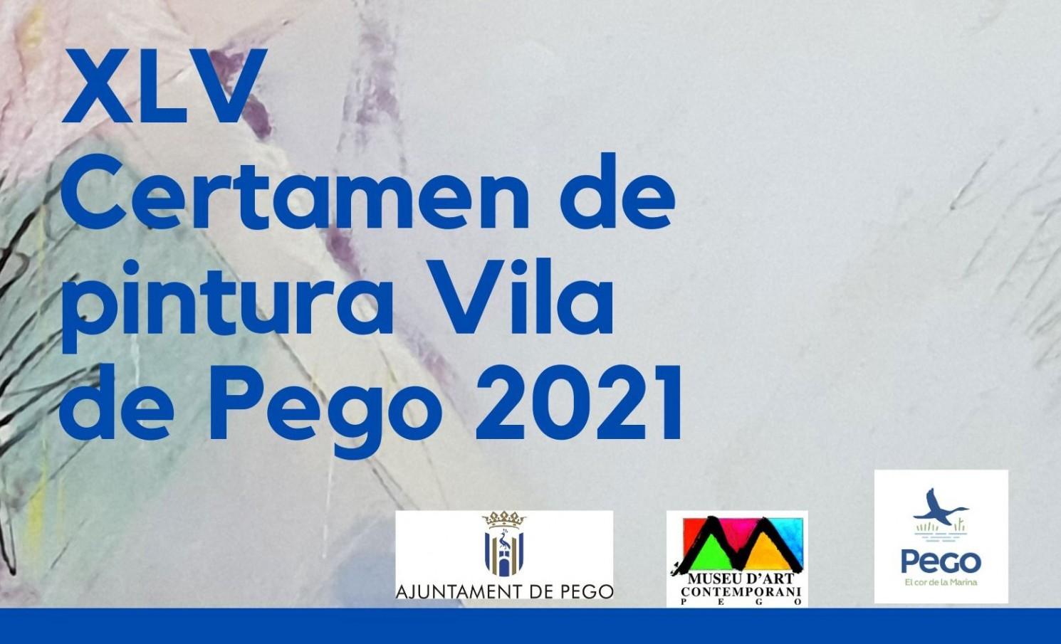 XLV CERTAMEN DE PINTURA VILLA DE PEGO 2021