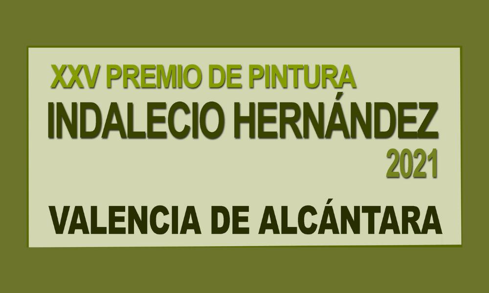 XXV CERTAMEN DE PINTURA INDALECIO HERNÁNDEZ VALLEJO