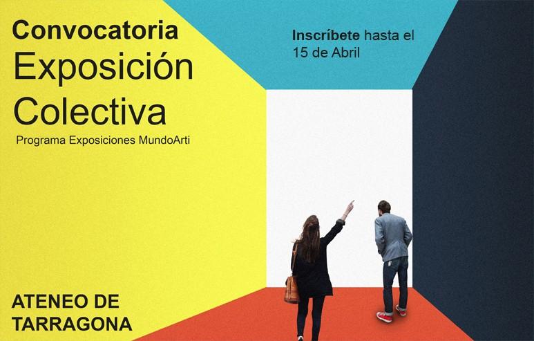 Programa Exposición Colectiva Ateneo MundoArti