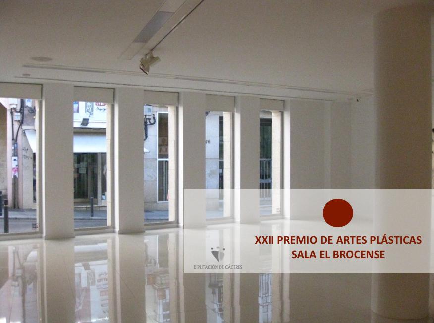 """XXII PREMIO DE ARTES PLÁSTICAS """"SALA EL BROCENSE"""""""