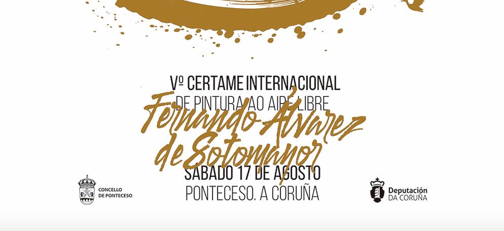 "V CERTAMEN INTERNACIONAL DE PINTURA ALAIRE LIBRE ""FERNANDO ÁLVAREZ DE SOTOMAYOR"""
