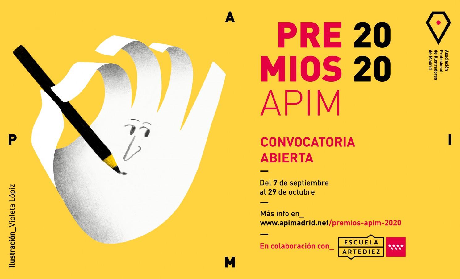 PREMIOS APIM 2020: CATEGORÍA A - GENERAL Y CATEGORÍA C - NUEVOS TALENTOS