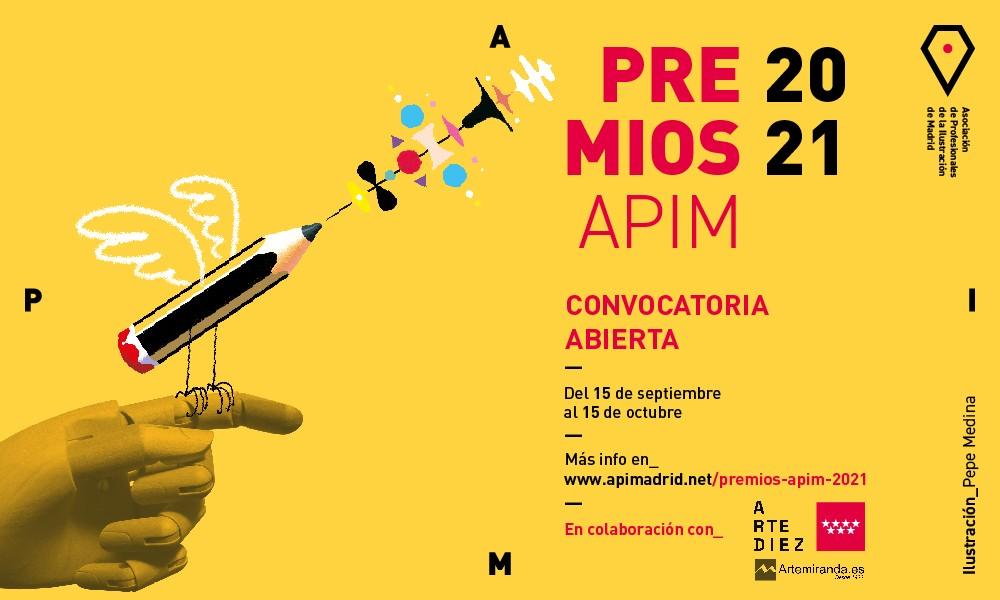 PREMIOS APIM 2021: Categoría B y C, Madrid, Socios de APIM y Nuevos talentos