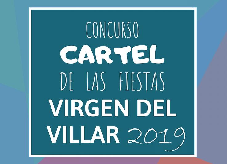 CONCURSO CARTEL DE LAS FIESTAS VIRGEN DEL VILLAR 2019
