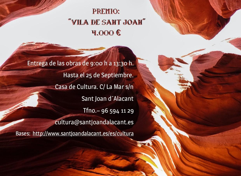 54 Certamen Nacional de Pintura Vila de Sant Joan d´Alacant