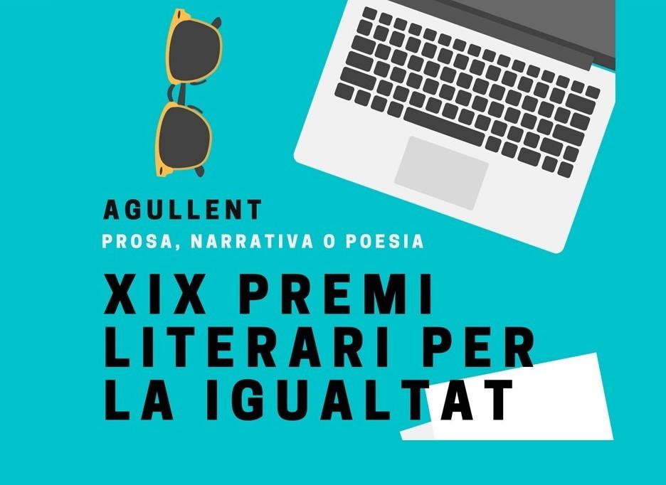 XIX PREMIO LITERARIO POR LA IGUALDAD DE AGULLENT 2021