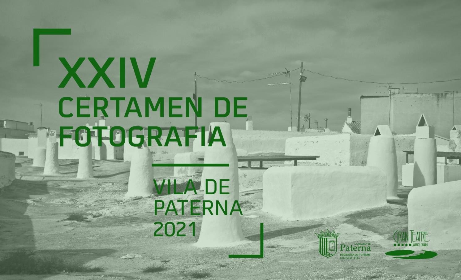 XXIV CERTAMEN DE FOTOGRAFÍA VILA DE PATERNA 2021