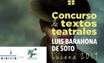 CONCURSO DE TEXTOS TEATRALES LUIS BARAHONA DE SOTO