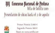 XIX CONCURSO NACIONAL DE PINTURA VILLA DE SOTILLO 2019