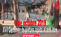 XVII CERTAMEN DE PINTURA RÁPIDA AL AIRE LIBRE
