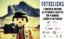 """I CONCURSO NACIONAL DE FOTOGRAFÍA CREATIVA """"FOTOCLICKS"""" CON PLAYMOBIL CIUDAD DE ANTEQUERA"""